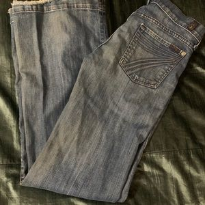 7 for all mankind Dojo jeans 29x33